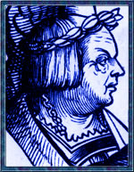 Heinrich Isaac from a 16th century woodcut